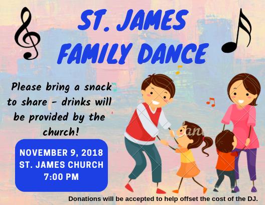 St. JAMES FAMILY DANCE